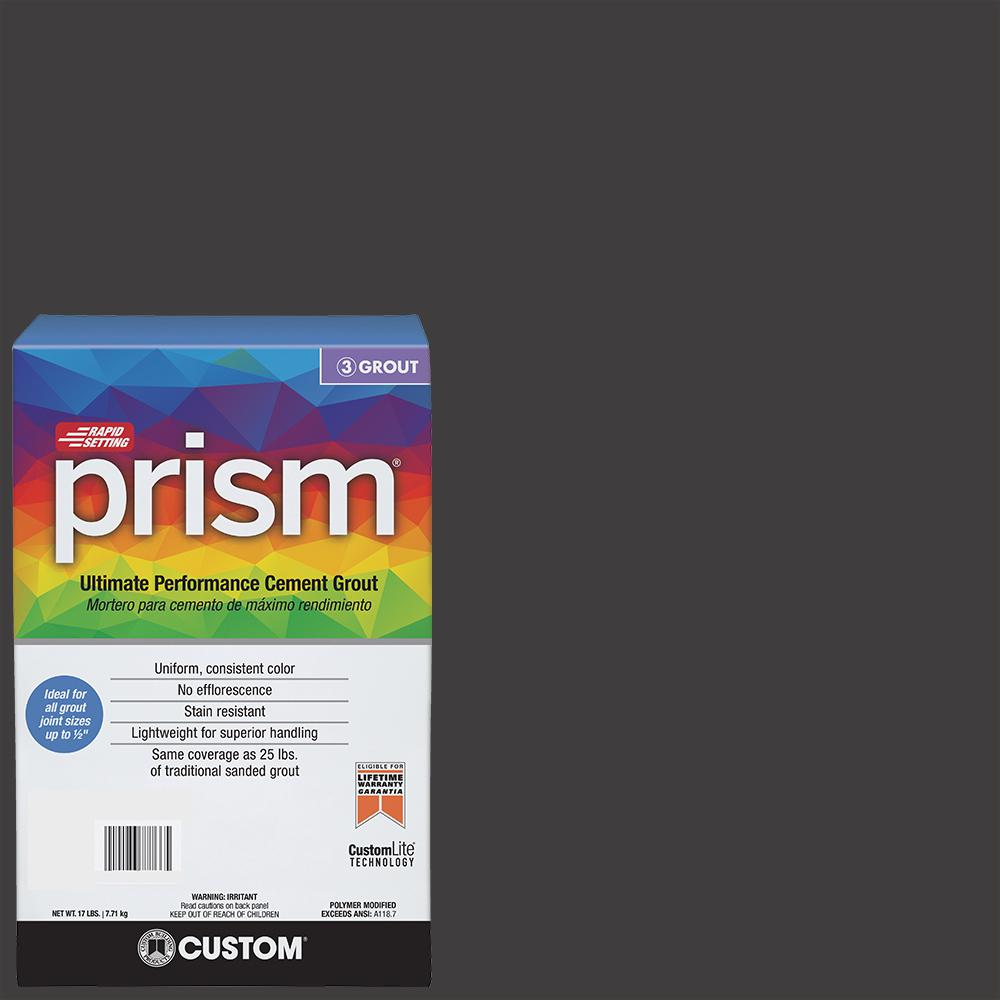 Custom Building Products Prism #60 Charcoal 17 lb. Grout