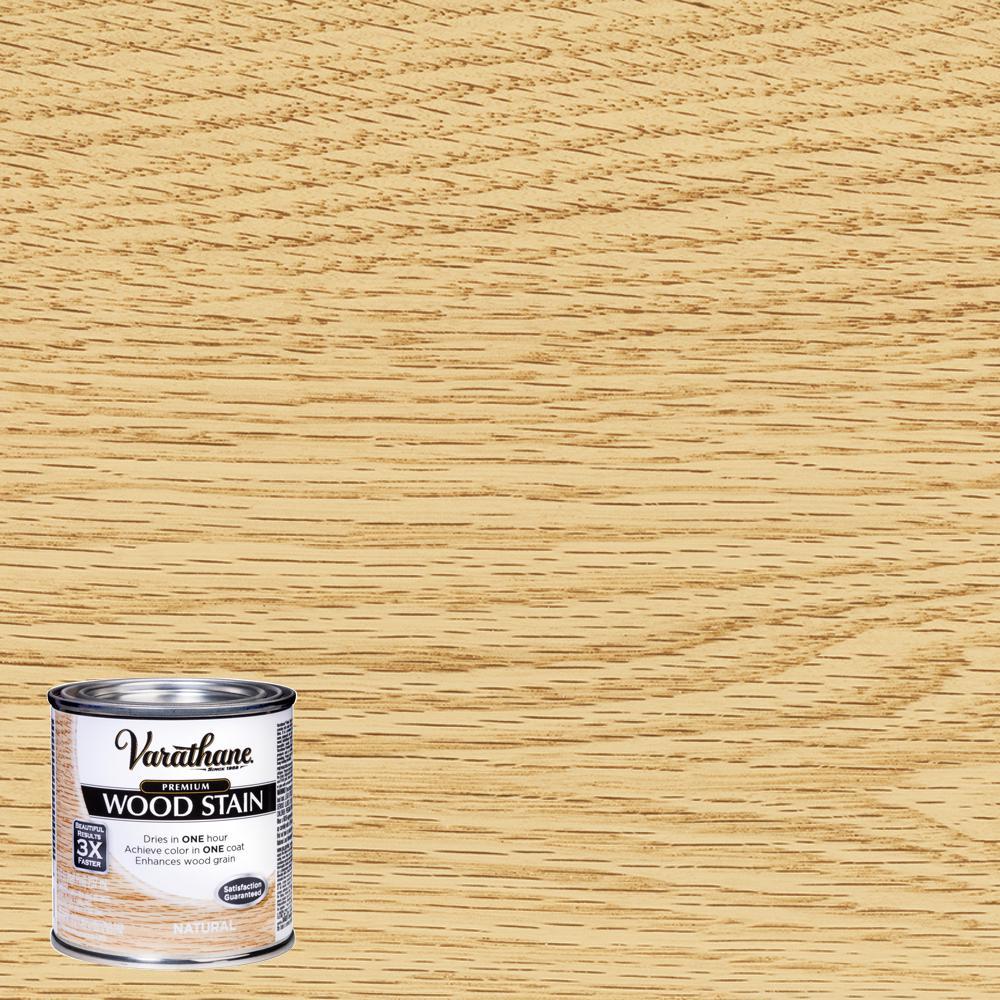 Varathane 8 oz. Natural Premium Fast Dry Interior Wood Stain
