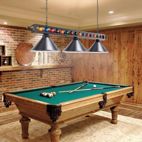 Pool Table Light Fixture For Room