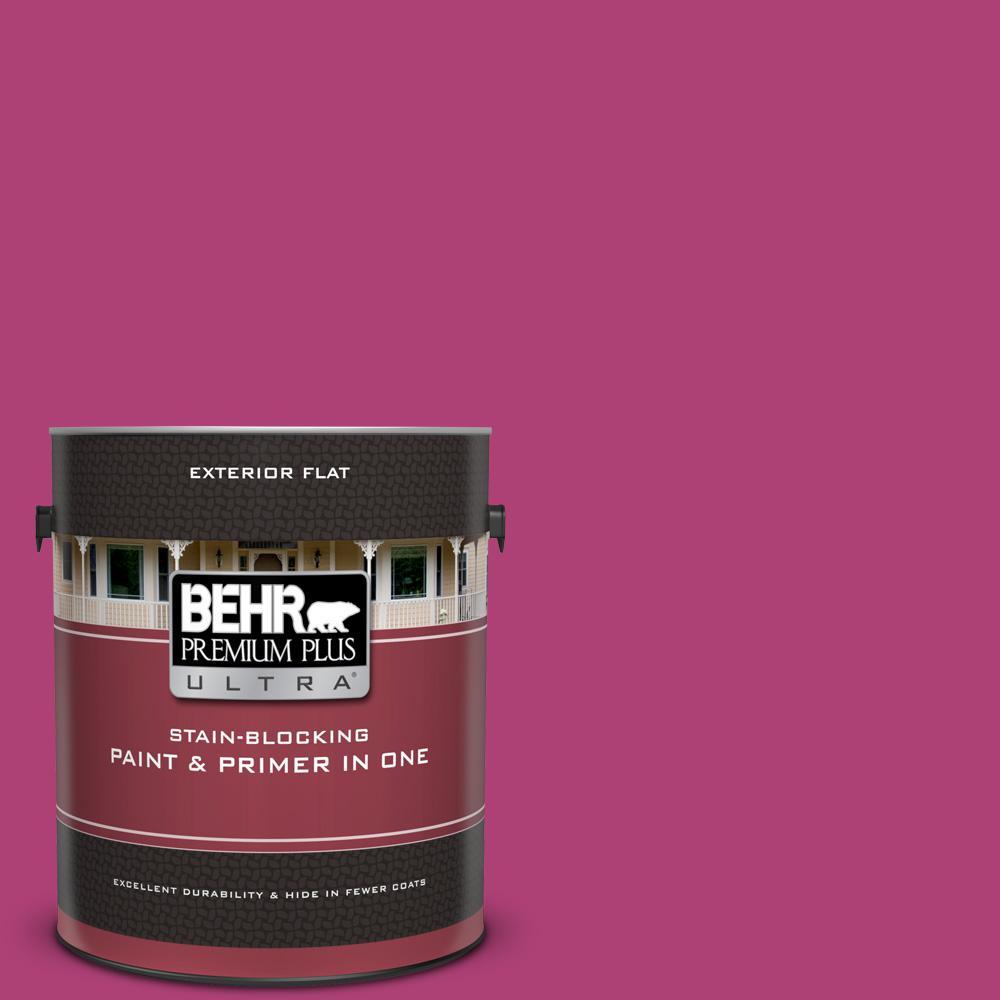 100b 7 Hot Pink Flat Exterior Paint