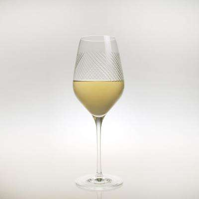 Bourbon Street 14.75 oz. Clear White Wine (Set of 4)