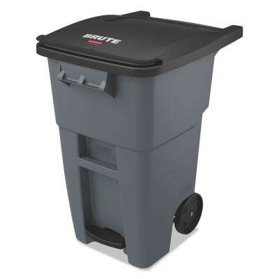 Brute Step-On Rollouts, Square, 50 Gal., Gray