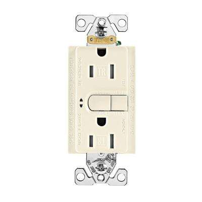 Aspire 15 Amp 125-Volt GFCI TR Duplex Receptacle with Self-Test, Desert Sand