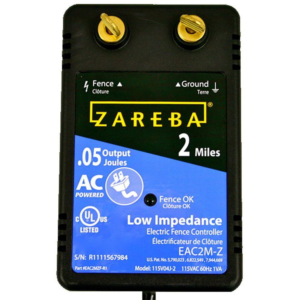 Zareba 2-Mile AC Low Impedance Energizer