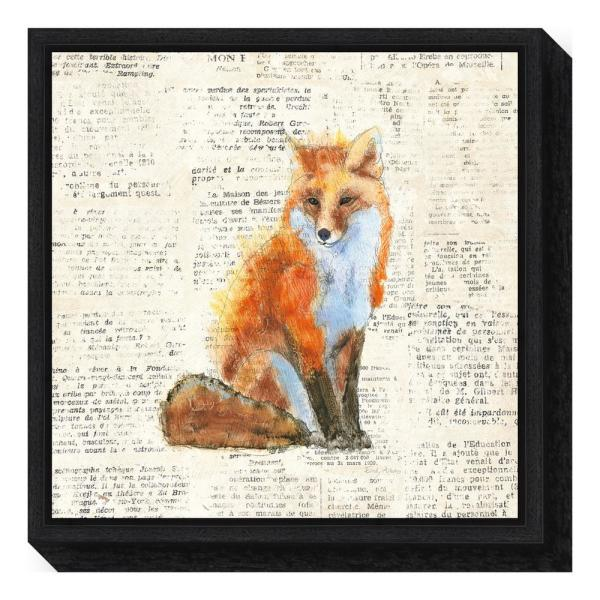 Amanti Art ''Into the Woods IV no Border (Fox)'' by Emily