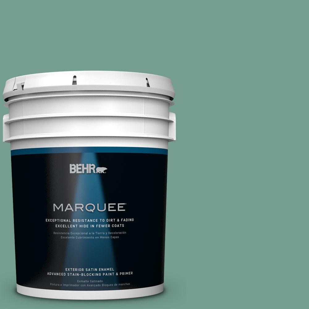 5-gal. #M430-5 Regal View Satin Enamel Exterior Paint