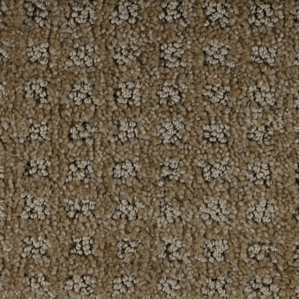 Carpet Sample - Traverse - Color Chippewa Pattern 8 in. x