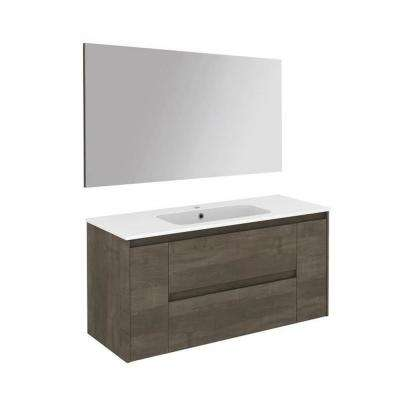 47.5 in. W x 18.1 in. D x 22.3 in. H Complete Bathroom Vanity Unit in Samara Ash with Mirror