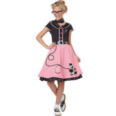 Girls 50'S Sweetheart Costume