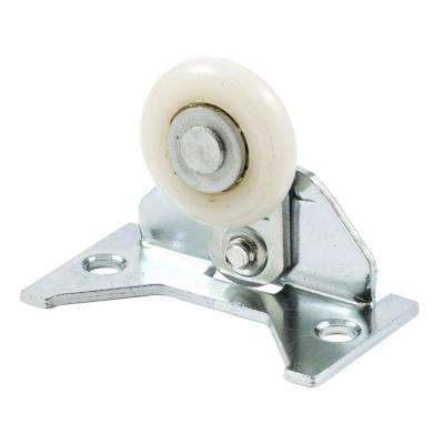 Pocket Door Top Roller Assembly, 1-1/4 in. Nylon Ball Bearing, 1-3/8 in. x 2-1/2 in. Adjustable Mounting Bracket