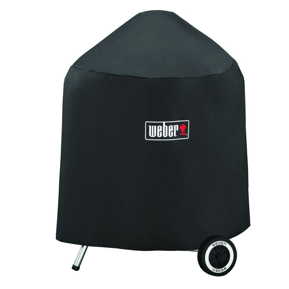Weber Grill Cover with Storage Bag for 22 in. Charcoal Grills