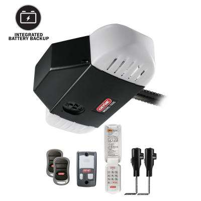 Captivating 750 3/4 HP Chain Drive Garage Door Opener With Battery Backup