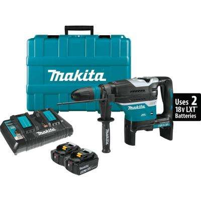 18-Volt X2 LXT Lithium-Ion 36-Volt Cordless 1-9/16 in. Rotary Hammer Kit, accepts SDS-MAX bits
