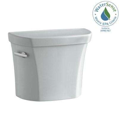Wellworth 1.28 GPF Single Flush Toilet Tank Only in Ice Grey