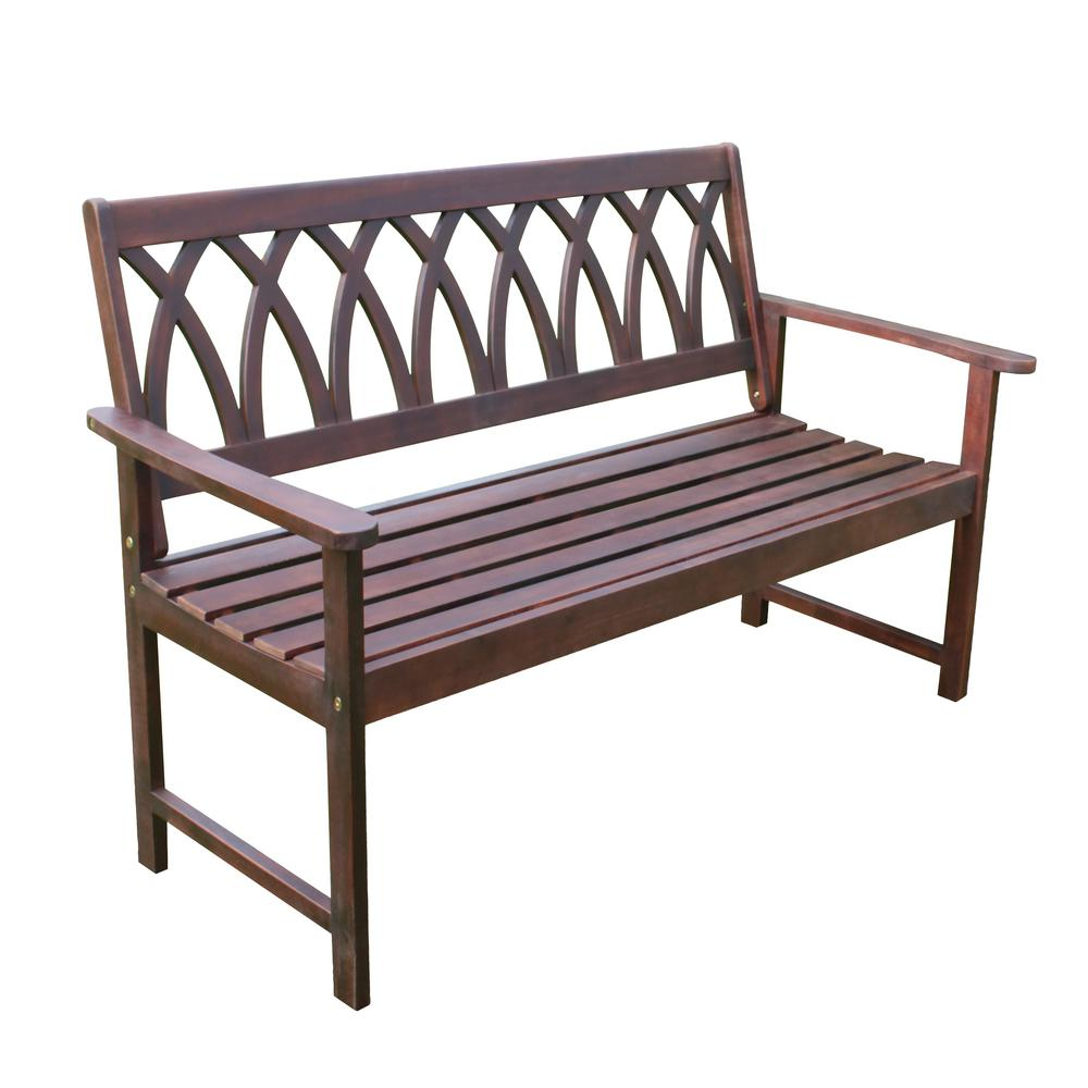 Wondrous Northbeam Wood Outdoor Garden Bench Gmtry Best Dining Table And Chair Ideas Images Gmtryco