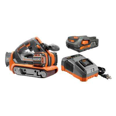 Gen5X Brushless 18-Volt 3 in. X 18 in. Belt Sander Kit