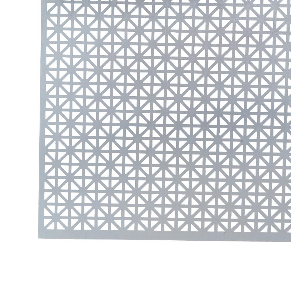1 ft. x 1 ft. Aluminum Union Jack Mill Sheet