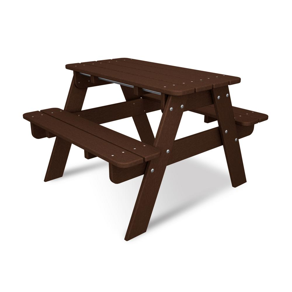 Kids Plastic Patio Picnic Table