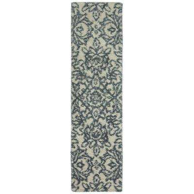 Spokane Abyss Blue 2 ft. x 7 ft. 10 in. Rug Runner