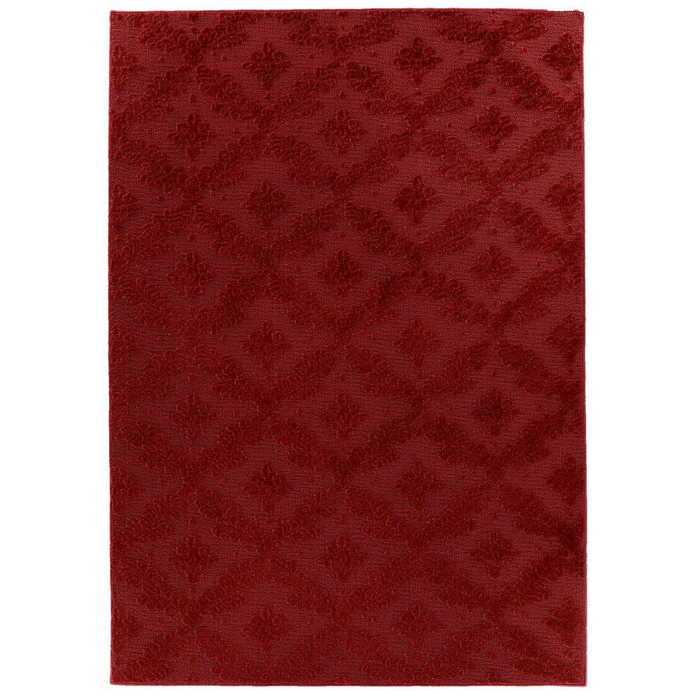 Charleston 9 Ft. x 12 Ft. Area Rug Chili Pepper Red