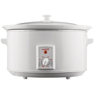 8 Qt. White Slow Cooker