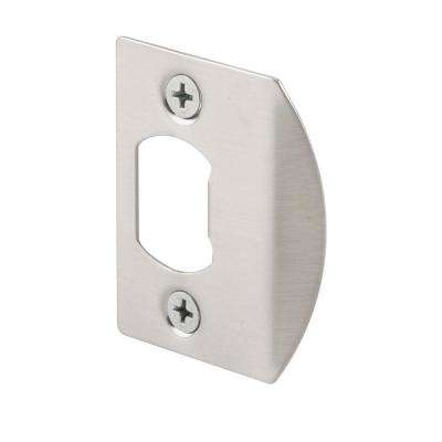Satin Nickel Standard Latch Strike Plate