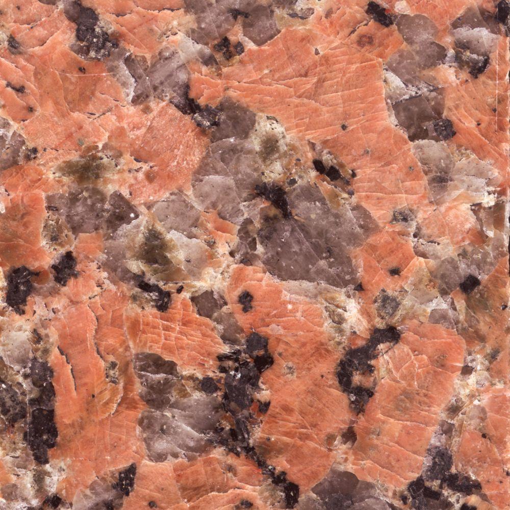 4 in. x 4 in. Terra Cotta Granite Sample