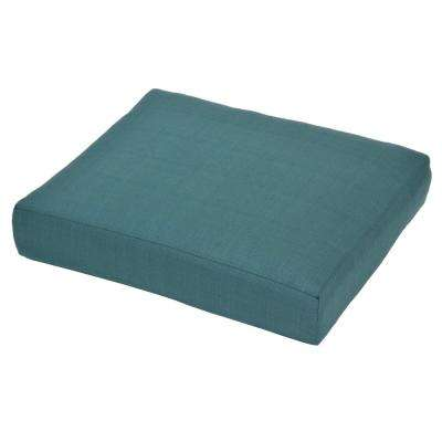 Charlottetown Charleston Replacement Outdoor Ottoman Cushion