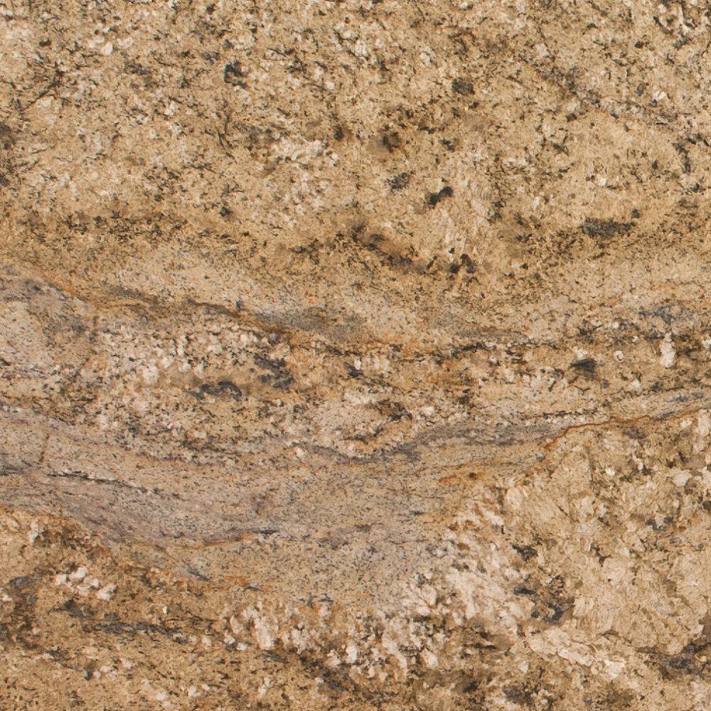 Stonemark Granite 3 in. Granite Countertop Sample in Yellow River