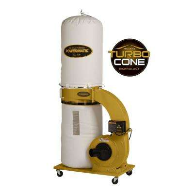 PM1300TX-BK 1.75HP 1PH Dust Collector with Bag Filter Kit