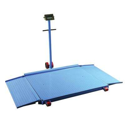 98 in. x 71 in. x 2 in. Portable Diamond Plate Scale