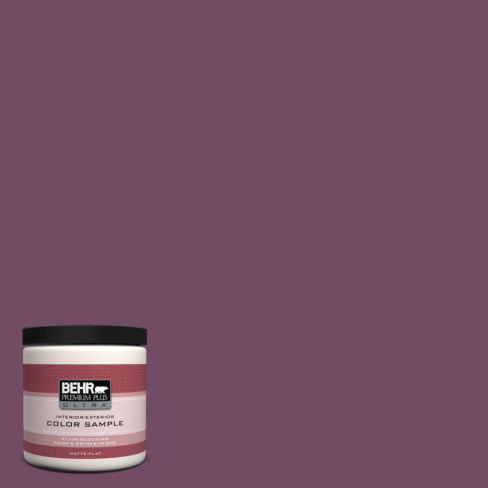 BEHR Premium Plus Ultra 8 oz. #690D-7 Radicchio Interior/Exterior Paint Sample