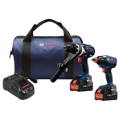 18-Volt 2-Tool Combo Kit with (2) CORE18 6.3 Ah Batteries