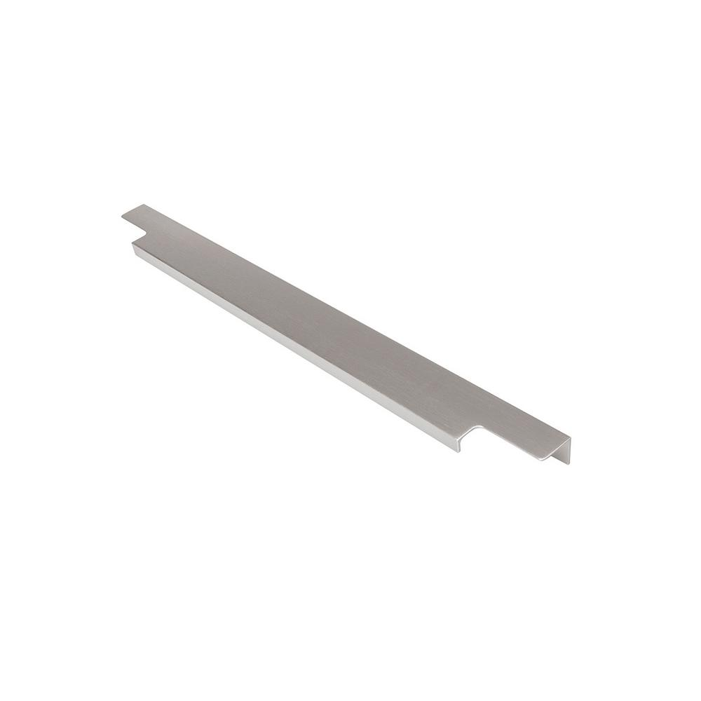 Hickory Hardware Austere Collection 18 in. Center-to-Center Aluminum Cabinet Pull Handle (2-Pack)