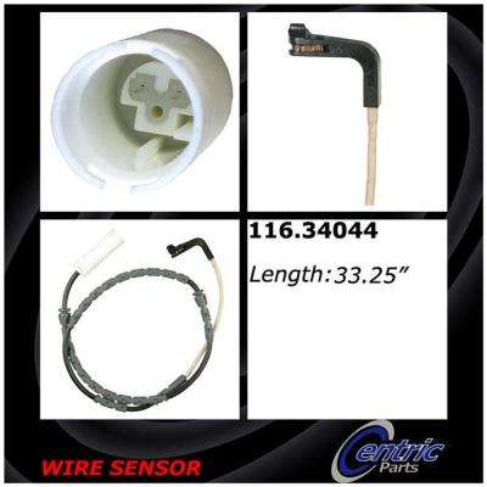 Brake Pad Sensor Wires - Front