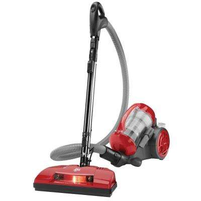 Power Reach Bagless Multi-Cyclonic Canister Vacuum Cleaner