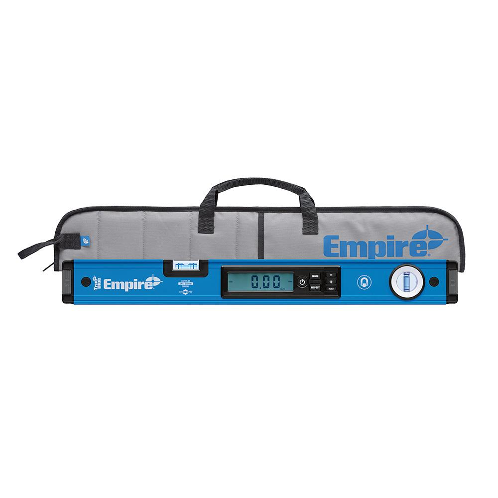 24 in. True Blue Magnetic Digital Box Level with Case