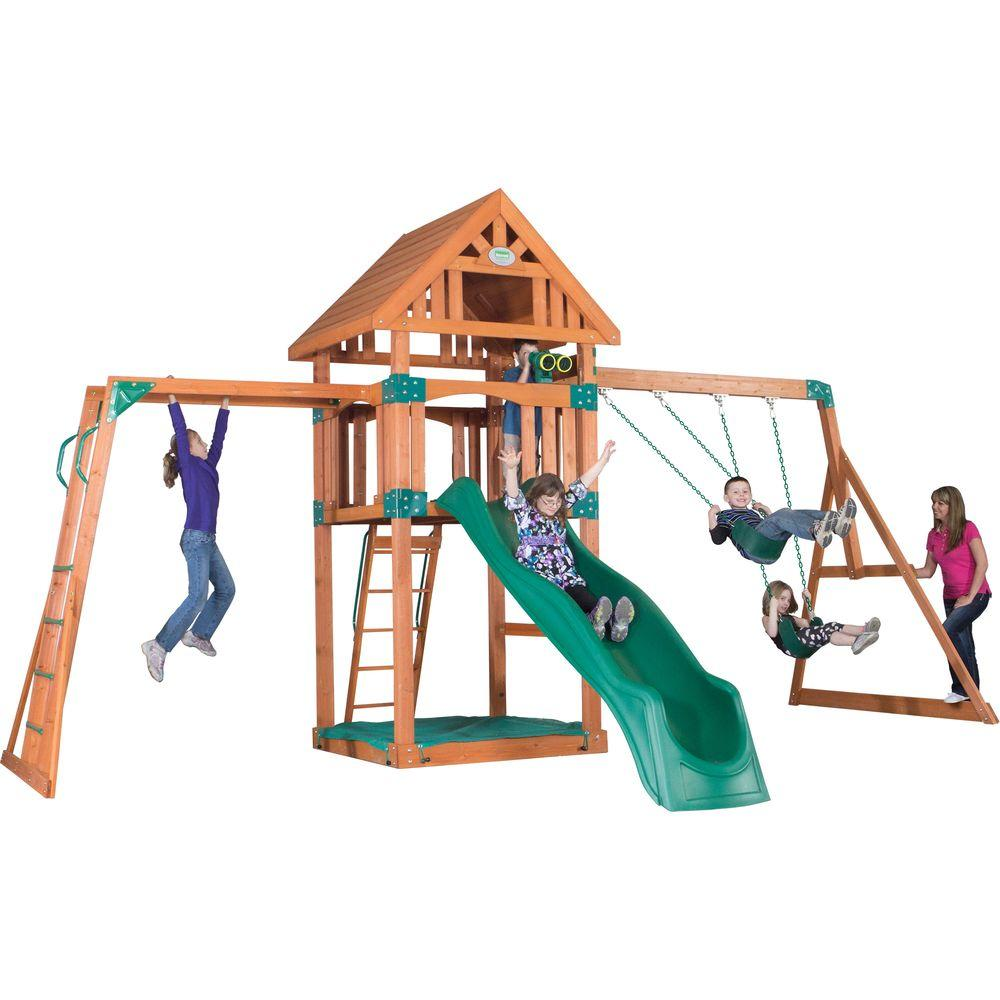 Backyard Discovery Caribbean All Cedar Playset-1606029com - The Home ...