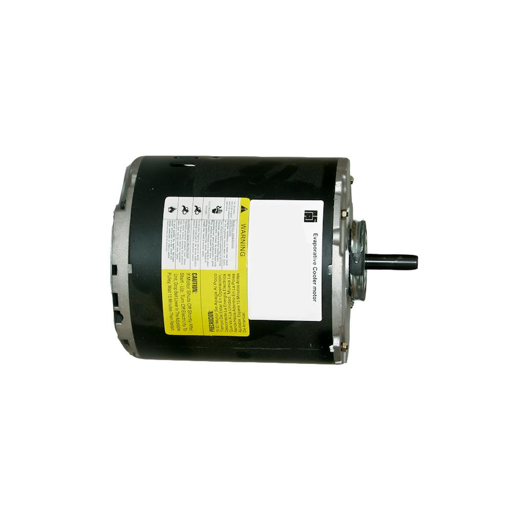 1-Speed 1/2 HP 120-Volt Evaporative Cooler Replacement Motor