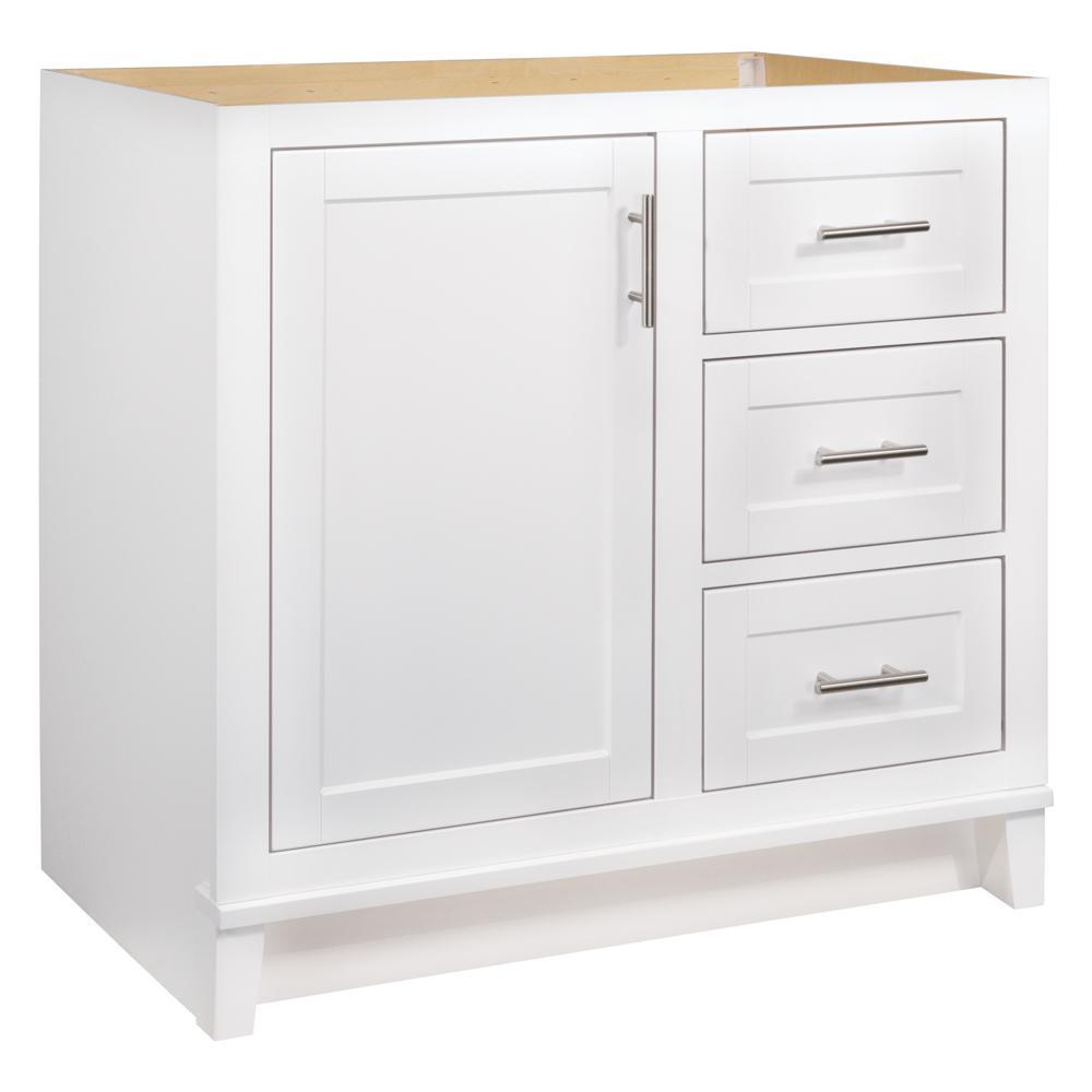 glacier bay kinghurst 36 in w x 21 in d x 33 5 in h bathroom rh homedepot com 36 inch white bathroom vanity cabinet