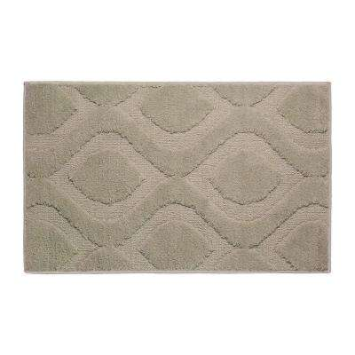 Mia Linen 17 in. x 24 in. Bath Mat
