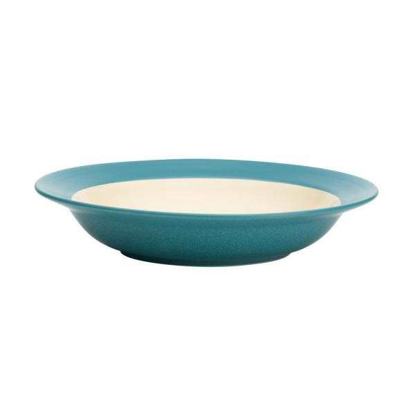 Colorwave 20 oz. Turquoise Pasta/Rim Soup Bowl