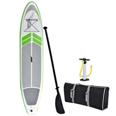 12 ft. Manta Ray Inflatable Stand Up Paddleboard with Hand Pump