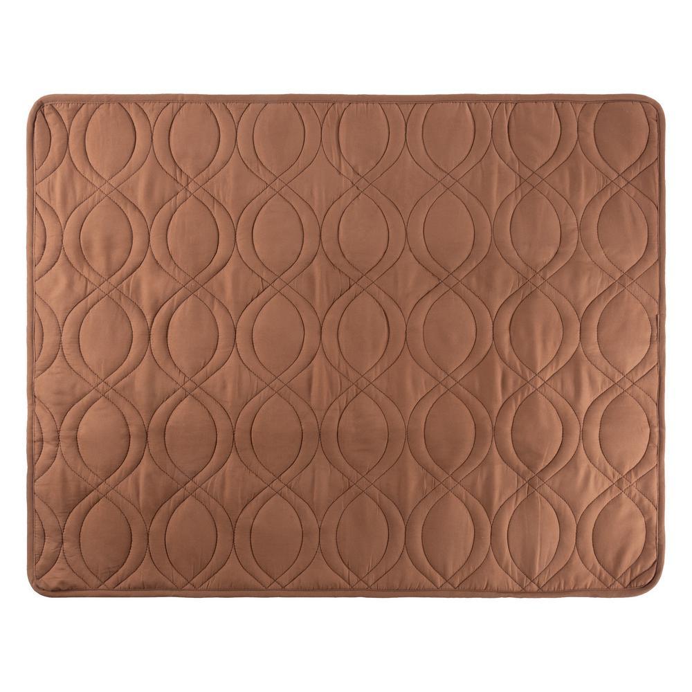 36 in. x 28 in. Brown 100% Waterproof Pet Furniture Protector Pad
