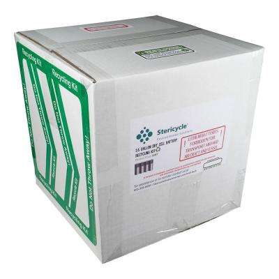 3.5 Gallon Dry Cell Battery Pail Prepaid Recycling Kit