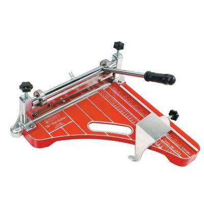 12 in. Pro Grade VCT Vinyl Tile and Luxury Vinyl Tile Cutter