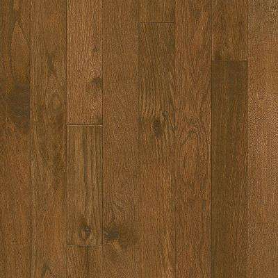 Take Home Sample - Plano Oak Saddle 3/4 in. Thick x 3-1/4 in. Wide Solid Hardwood Flooring - 5 in. x 7 in.