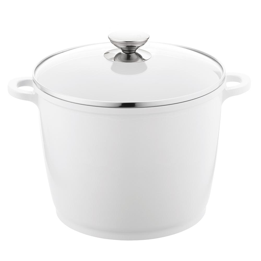 SignoCast 7 Qt. Cast Aluminum Stock Pot with Lid