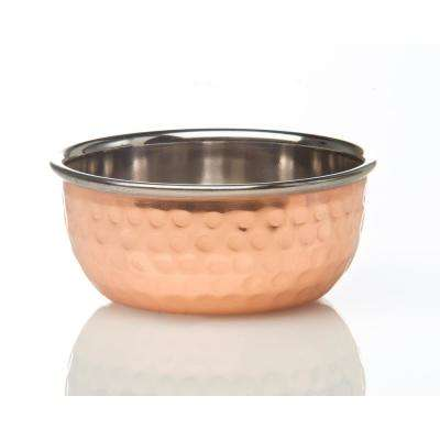 Element Collection, Hammered Copper Condiment Bowl