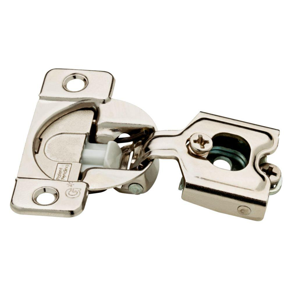 Liberty 35 Mm 105 Degree 1 2 In Overlay Cabinet Hinge 5 Pairs 850304 The Home Depot